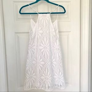Lilly Pulitzer Dresses - Lilly Pulitzer White Crochet Dress